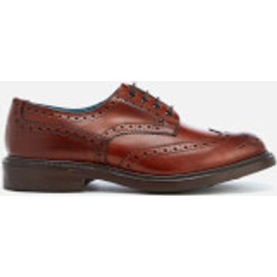 Knutsford by Tricker's Men's Bourton Leather Brogues - Chestnut Burnished - UK 11 - Tan