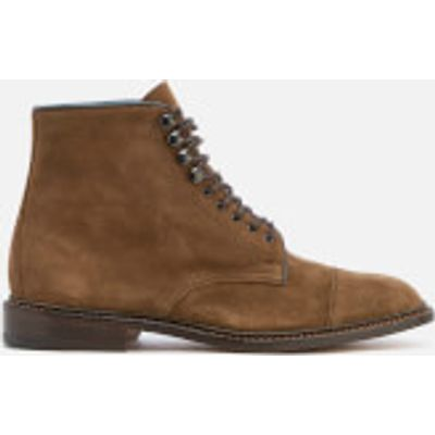 Knutsford by Tricker's Men's Scott Ultra Flex Suede Lace Up Boots - New Brown - UK 10 - Brown