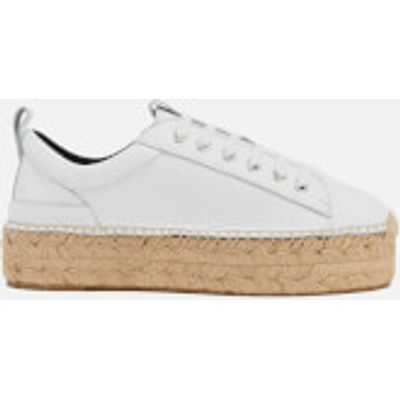 McQ Alexander McQueen Women's Sade Runner Leather Trainers - White - UK 6 - White