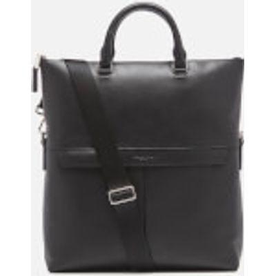 Michael Kors Men's Fold Over Tote Bag - Black