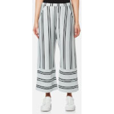 House of Sunny Women's Stripe Fit and Flare Culottes - Essential Stripe - UK 10 - Multi
