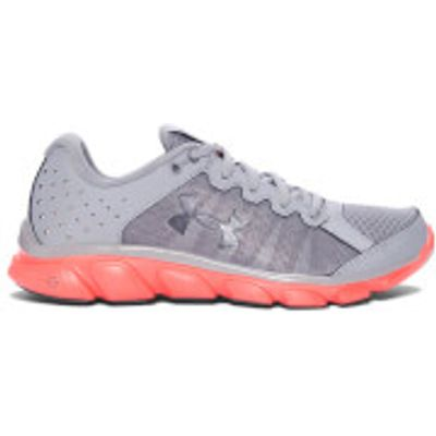 Under Armour Women's Micro G Assert 6 Running Shoes - Steel - US 9.5/UK 7 - Steel