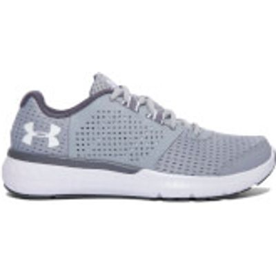 Under Armour Women's Micro G Fuel Running Shoes - Overcast Grey/White - US 8.5/UK 6 - Overcast Grey/