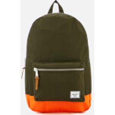 Herschel Supply Co. Settlement Backpack - Forest Night/Vermillion Orange