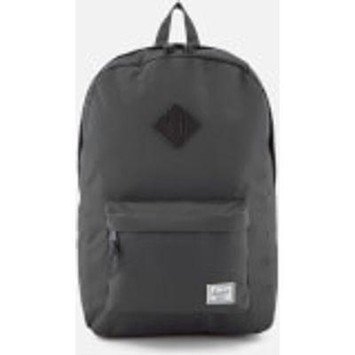 Herschel Supply Co. Heritage Backpack - Dark Shadow/Black Pebbled Leather