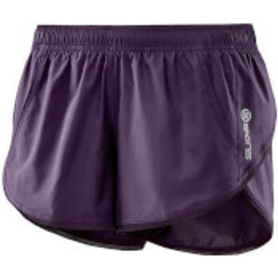 Skins Plus Women's System Run Shorts - Haze - XS - Purple