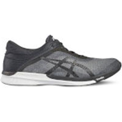 Asics Men's FuzeX Rush Running Shoes - Mid Grey/Black - UK 11.5/US 12.5 - Grey