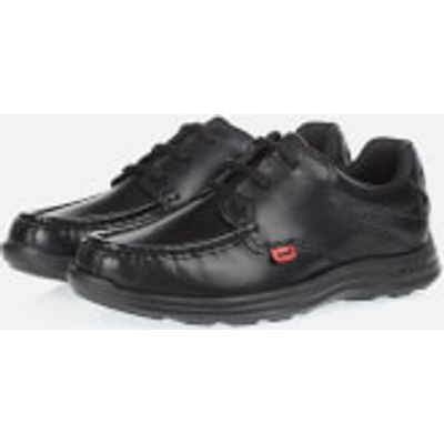 Kickers Kids' Reasan Lace Up Shoes - Black - UK 6/EU 39 - Black