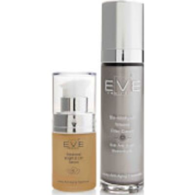 Eve Rebirth Botanical Bright & Lift Serum + Bio-Intelligent Wrinkle Filler Cream