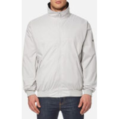 MUSTO Men's Classic Snug Blouson Jacket - Platinum/Black - M - Grey