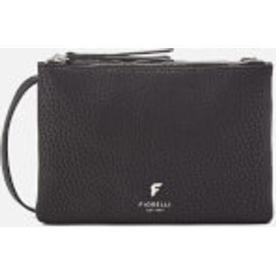 Fiorelli Women's Bunton Double Compartment Cross Body Bag - Black Casual Mix