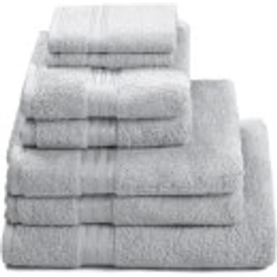 5032412013878 | Restmor 100  Egyptian Cotton 7 Piece Supreme Towel Bale Set  500gsm    Silver Store