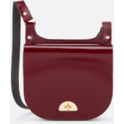 The Cambridge Satchel Company Women's Small Conductor's Bag - Oxblood Patent