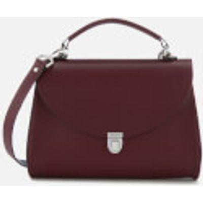 The Cambridge Satchel Company Women's Poppy Bag - Oxblood Red Safiiano