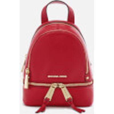 MICHAEL MICHAEL KORS Women's Rhea Zip Extra Small Backpack - Bright Red