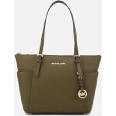 MICHAEL MICHAEL KORS Women's Jet Set East West Top Zip Tote Bag - Olive