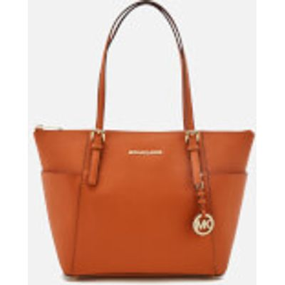 MICHAEL MICHAEL KORS Women's Jet Set East West Top Zip Tote Bag - Orange