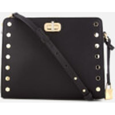MICHAEL MICHAEL KORS Women's Sylvie Medium Messenger Bag - Black