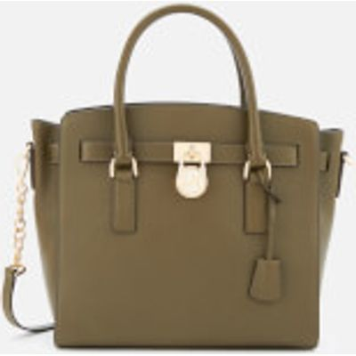 MICHAEL MICHAEL KORS Women's Hamilton Large East West Satchel - Olive