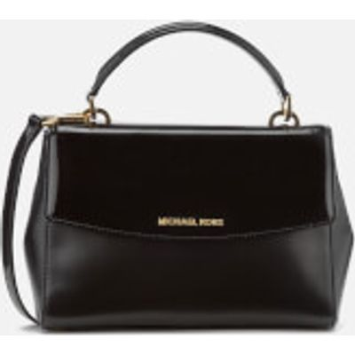 MICHAEL MICHAEL KORS Women's Ava Small Satchel - Black Patent