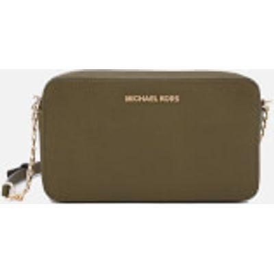 MICHAEL MICHAEL KORS Women's Jet Set Medium East West Cross Body Bag - Olive