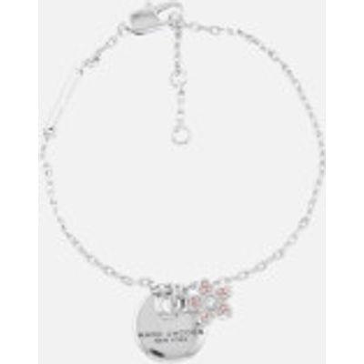 Marc Jacobs Women's MJ Coin Bracelet - Silver