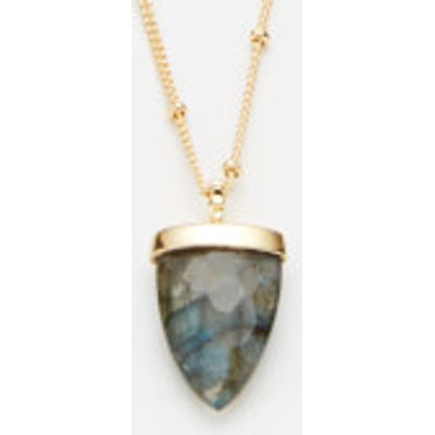 Missoma Women's Labradorite Kismet Pendant and Medium Beaded Chain - Gold/Multi