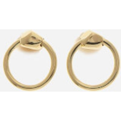 Missoma Women's Gold Nugget Hoops - Gold