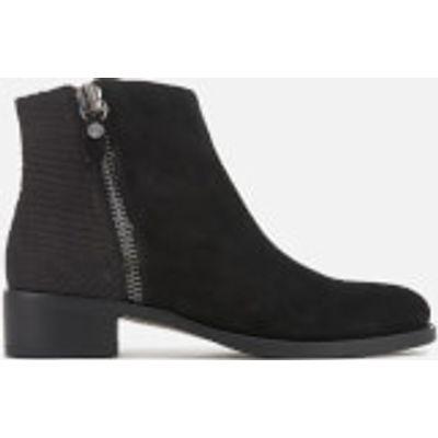 Dune Women's Prise Suede Ankle Boots - Black - UK 6 - Black