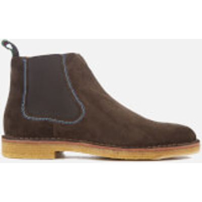 PS by Paul Smith Men's Dart Suede Chelsea Boots - Dark Brown - UK 7 - Brown