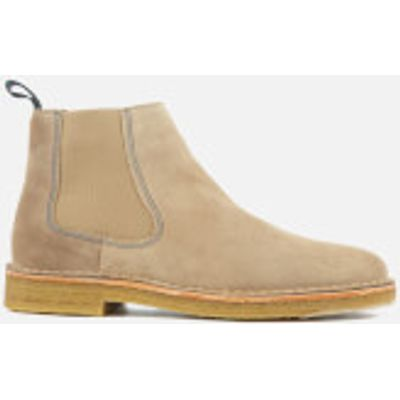 PS by Paul Smith Men's Dart Suede Chelsea Boots - Taupe - UK 7 - Beige