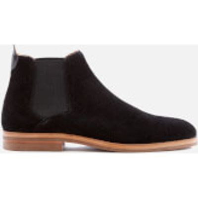 Hudson London Men's Tonti Suede Chelsea Boots - Black - UK 7 - Black
