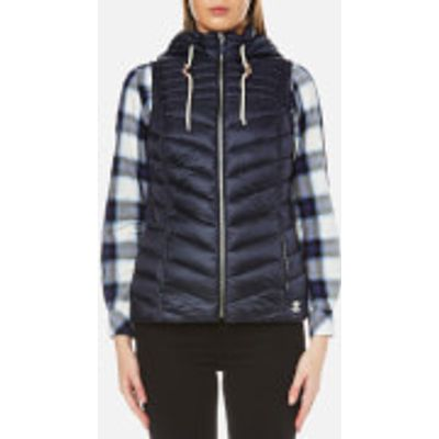 Barbour Women's Lowmoore Quilt Gilet - Dark Navy - UK 8 - Blue