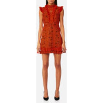 Three Floor Women's Sienna Dress - Rust Red/Grape - UK 8 - Red