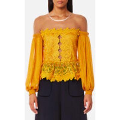 Three Floor Women's Mellow Top - Saffron - UK 12 - Yellow