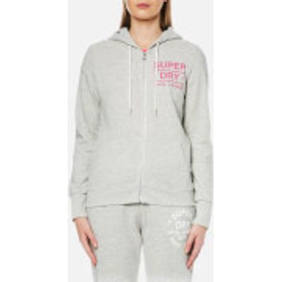 Superdry Women's Athletic League Loopback Zip Hoody - Athletic Grey Marl - S - Grey