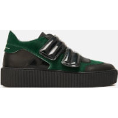 MM6 Maison Margiela Women's Multi Colour Trainers - Green/Black/Black - EU 40/UK 7 - Green/Black