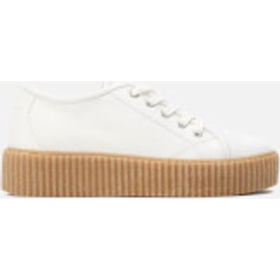MM6 Maison Margiela Women's Flatform Trainers - White - UK 4 - White