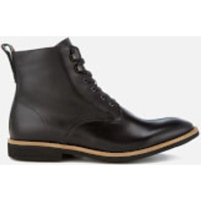 PS by Paul Smith Men's Hamilton Leather Lace Up Boots - Black - UK 7 - Black