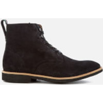 PS by Paul Smith Men's Hamilton Suede Lace Up Boots - Anthracite - UK 7 - Grey