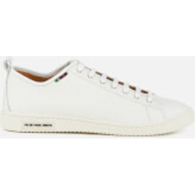 PS by Paul Smith Men's Miyata Leather Trainers - White - UK 7 - White