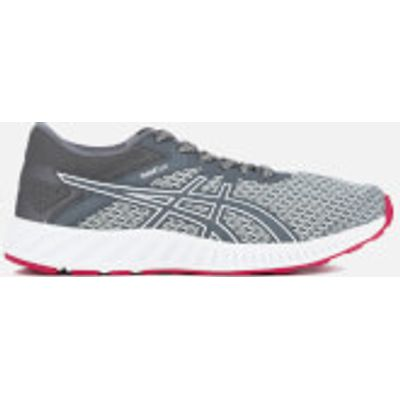 Asics Women's Fuze X Lyte 2 Trainers - Mid Grey/Carbon/Cosmo Pink - UK 4 - Grey