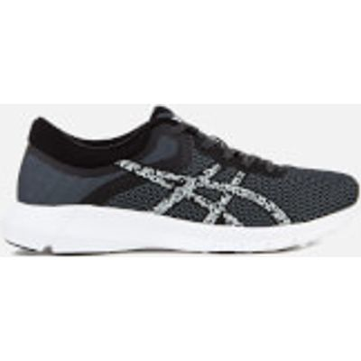 Asics Women's Nitrofuze 2 Trainers - Black/Grey/Carbon - UK 4 - Black