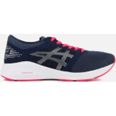 Asics Women's Roadhawk FF Trainers - Insignia Blue/Silver/Rouge Red - UK 3 - Blue