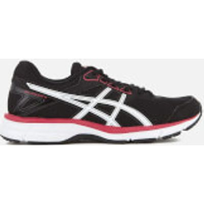 Asics Women's Gel Galaxy 9 Trainers - Black/Rouge Red/White - UK 3 - Black