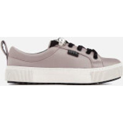 Karl Lagerfeld Women's Luxor Kup Satin Trainers - Light Pink - UK 3
