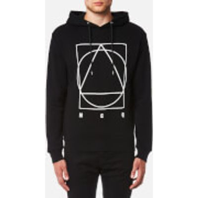 McQ Alexander McQueen Men's Band Icon Curtis Hoody - Darkest Black - XL - Black