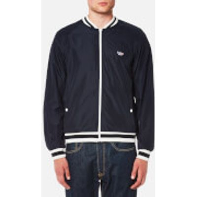 Maison Kitsune Men's Windbreaker - Navy - M - Blue