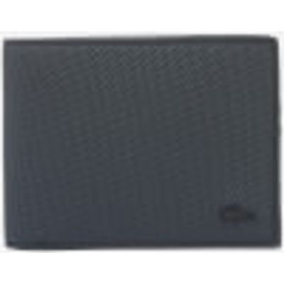 Lacoste Men's Bi Fold Wallet - Black
