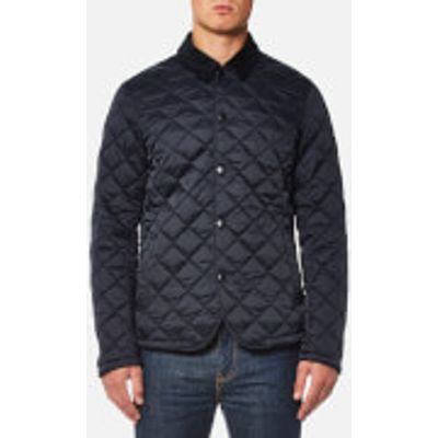 Barbour Men's Drill Quilted Jacket - Navy - XXL - Navy